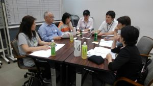 平成30年度第1回居宅・移動支援部会、グループワークの様子