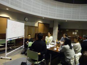 第3回計画相談部会の様子(グループワークの様子1)